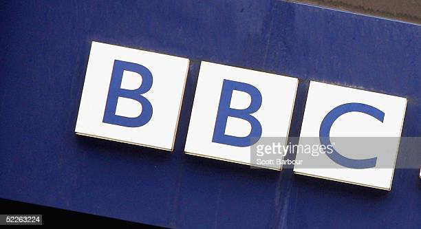 BBC logo is seen on the side of a British Broadcasting Corporation building on March 2 2005 in London England Under new government plans the BBC's...