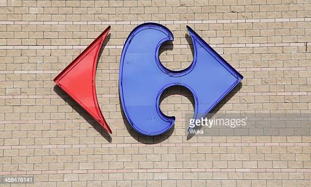 ロゴの Carrefour 保存
