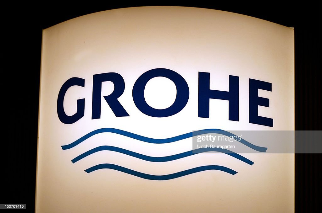 Grohe Ag logo of grohe ag. news photo | getty images