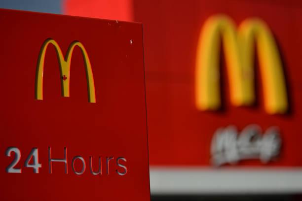 logo of mcdonalds restaurant in edmonton alberta has declared a state picture
