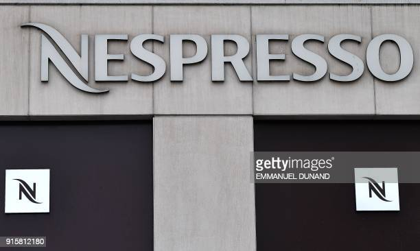 Nespresso Logo Stock Photos And Pictures Getty Images