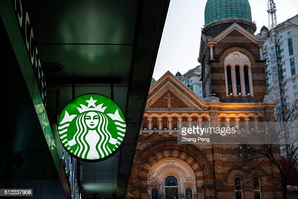 Logo of Starbucks Starbucks already has nearly 2000 stores in mainland China and plans to have 3400 by 2019 laying the groundwork for Chinas next...