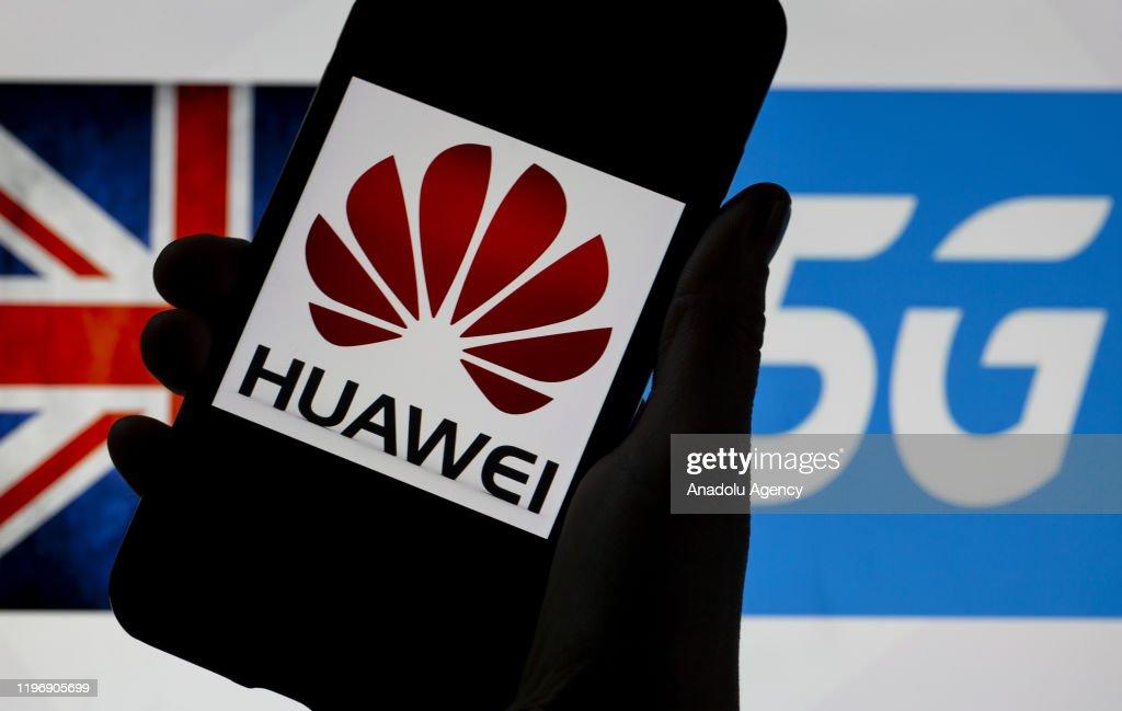 "Telecommunications equipment company ""Huawei"" and 5G : News Photo"