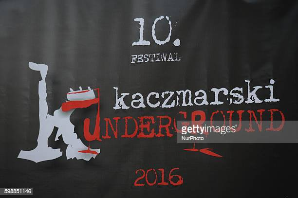 A logo of the 10th edition of Kaczmarski underground Festival The festival promots Jacek Kaczmarski a Polish singer songwriter poet and author who...
