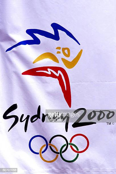 Logo of the 2000 Sydney Olympics Games