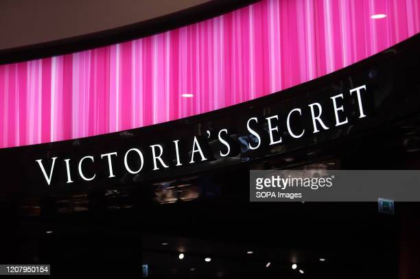 Logo of Victoria`s Secret is seen at Galeria Shopping and Entertainment Centre.