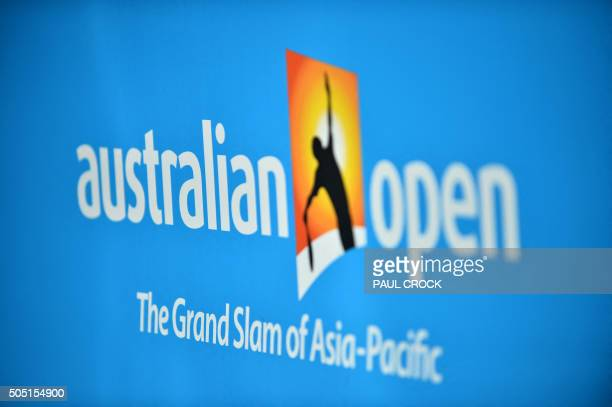 108 Australian Open Tennis Logo Photos And Premium High Res Pictures Getty Images