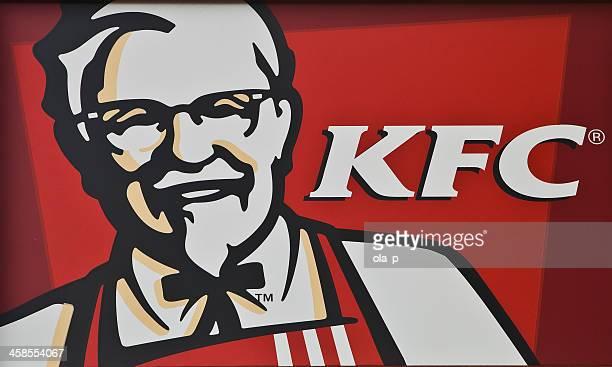 kfc (ケンタッキーフライドチキンなど)の通りにビルボード/看板 - ケンタッキー州 ストックフォトと画像