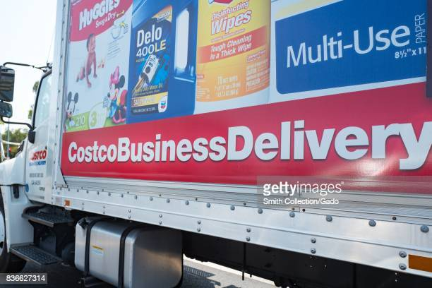 Logo on truck for Costco Business Delivery Santa Clara California August 17 2017
