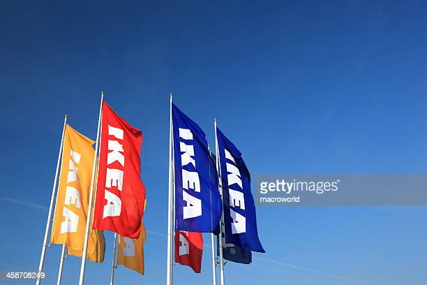 ikea logo - ikea stock pictures, royalty-free photos & images