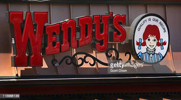 Logo signage is displayed at a Wendy's restaurant on June 13 2011 in Chicago Illinois According to reports Wendy's/Arby's Group Inc will sell a...