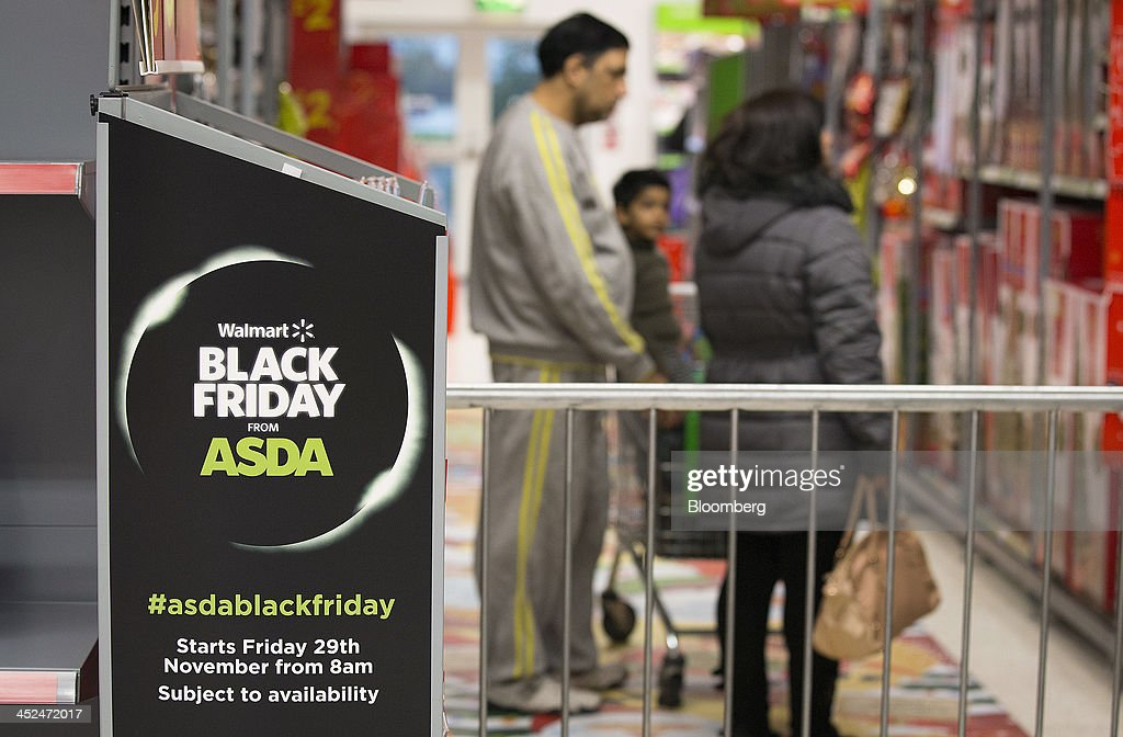A Logo Sits On A Display Unit As Customers Shop For Goods During A News Photo Getty Images