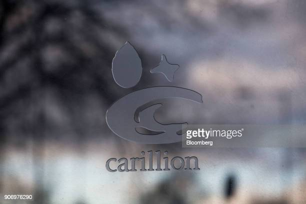 A logo sits on the Carillion Plc headquarter offices in Wolverhampton UK on Thursday Jan 18 2018 The Wolverhampton central Englandbased company filed...