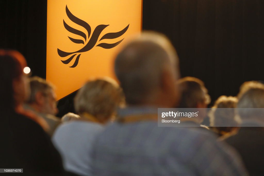 Lib Dem Leader Vince Cable Keynote Speech To Annual Conference : News Photo