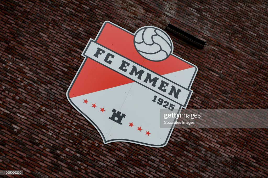 Logo Stadium Fc Emmen During The Dutch Eredivisie Match Between Fc News Photo Getty Images
