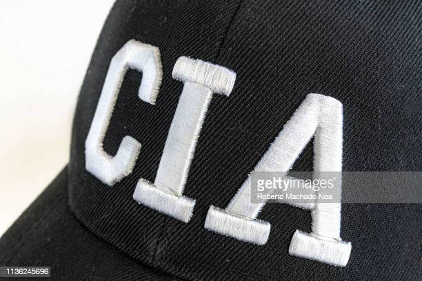 Logo text of the CIA which stands for Central Intelligence Agency.