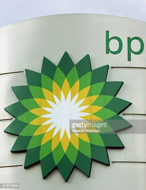 BP logo the world's second largest oil company October 26 2004 in London England The company has reported major profits in the third quarter thanks...