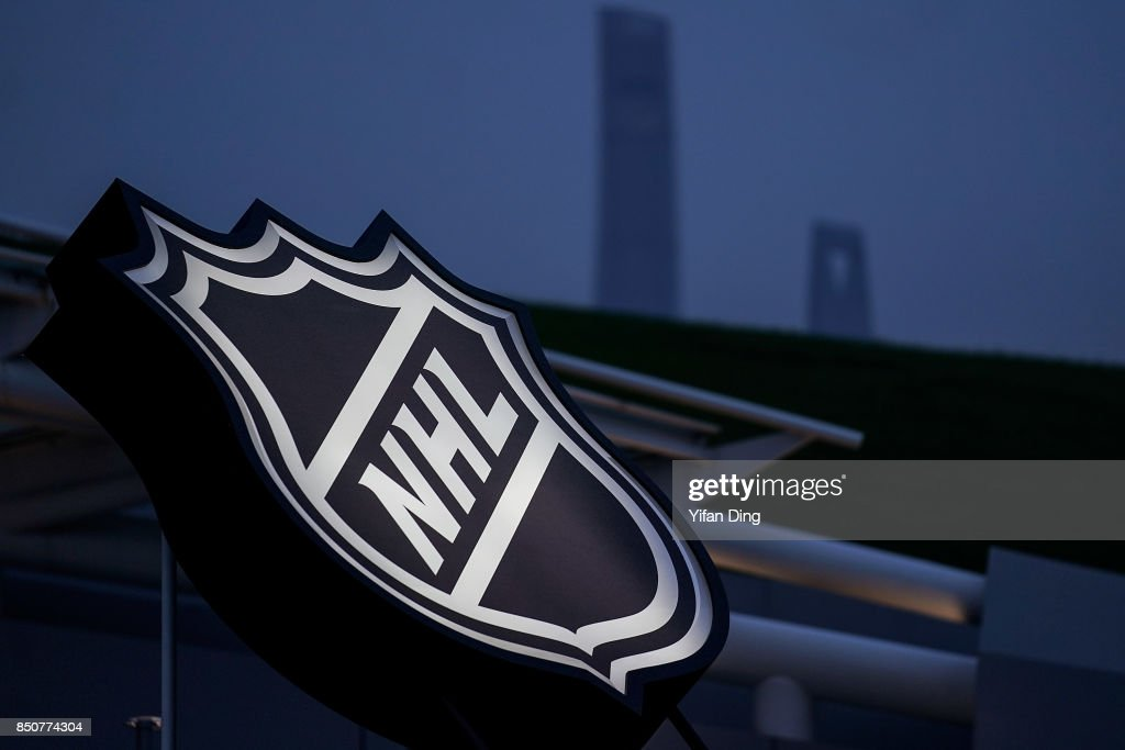 2017 NHL China Games - Los Angeles Kings v Vancouver Canucks : News Photo