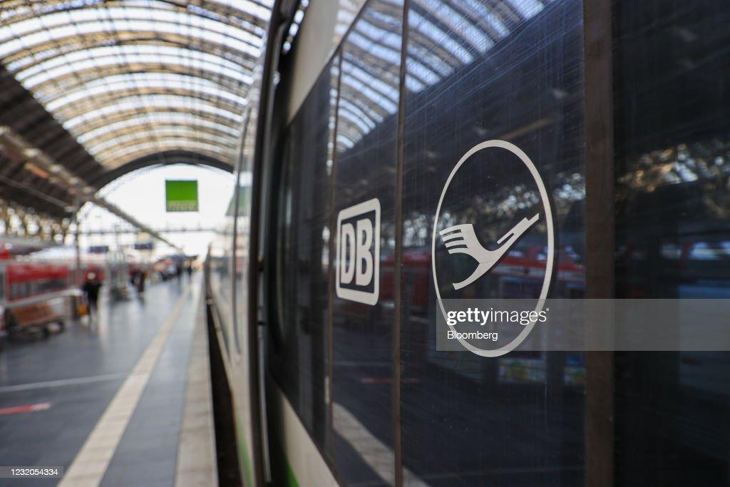 Lufthansa, Deutsche Bahn Fast Train Service Offers Alternative to Short Haul Flights : News Photo