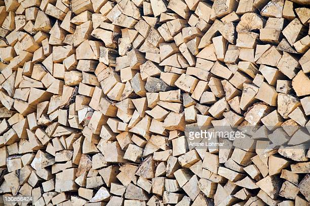 Logs, stacked