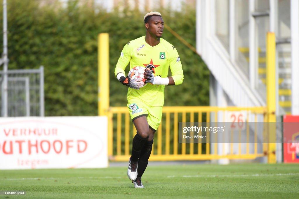 Loic Badiashile of Cercle Bruges during the pre-season friendly ...