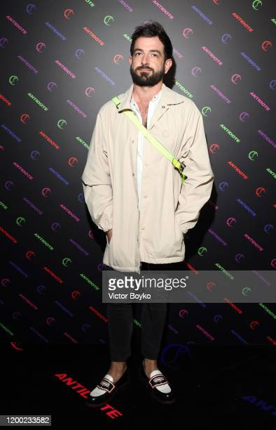 Loic Bahougne attends the Christian Louboutin x Antidote Party at Le Petit Palace on January 17, 2020 in Paris, France.