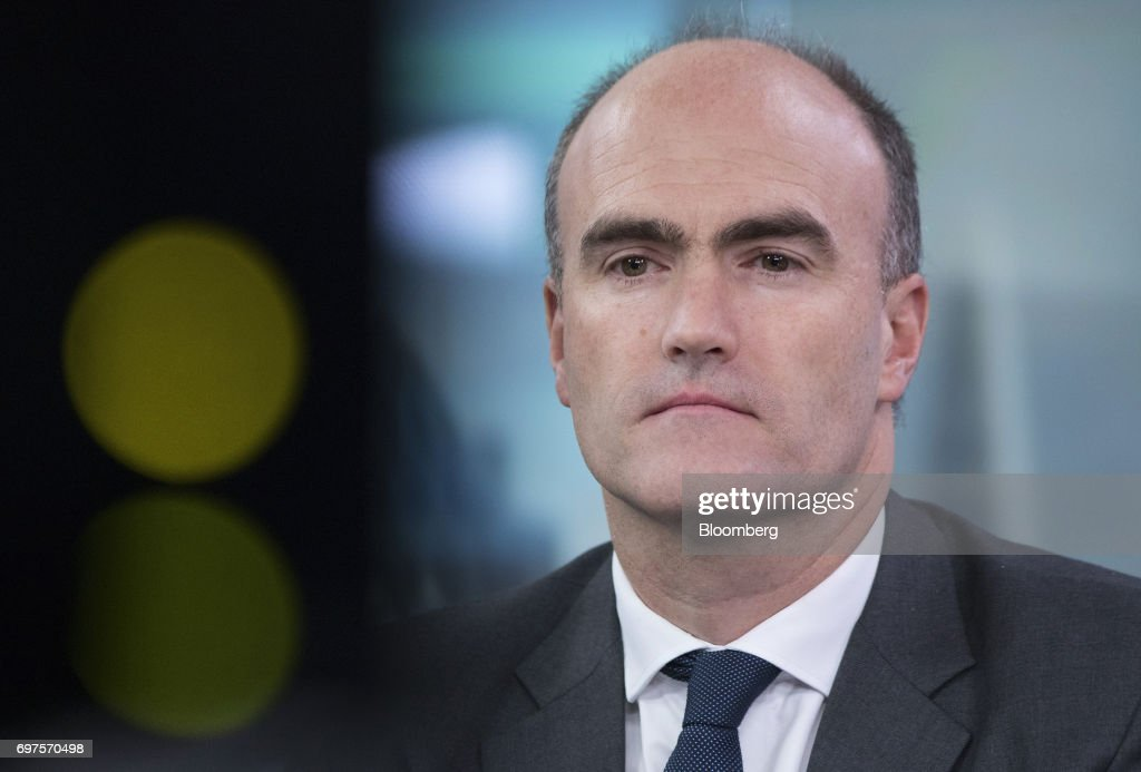 Loic Fery, chief executive officer of Chenavari Credit Partners LLP, pauses during a Bloomberg Television interview in London, U.K., on Monday, June 19, 2017. Fery started the London-based hedge-fund firm Chenavari in 2007. Photographer: Jason Alden/Bloomberg via Getty Images