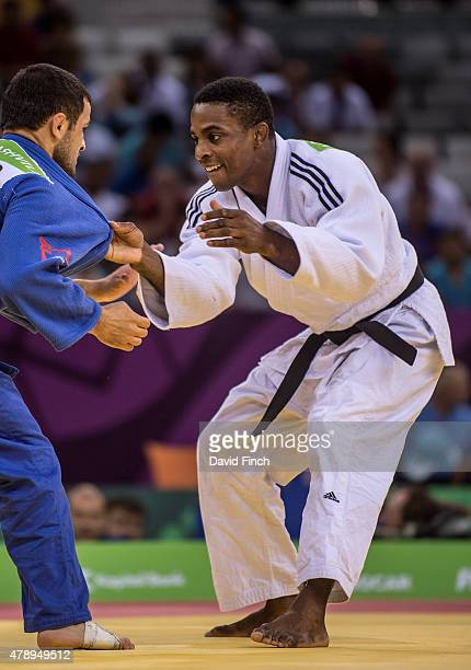 Loic Korval of France defeated Amiran Papinashvili of Georgia with a spectacular ippon to secure the first win for the French Men's team who...
