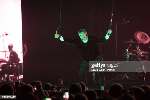 Loic Nottet performs at Salle Pleyel on May 26 2017 in Paris France