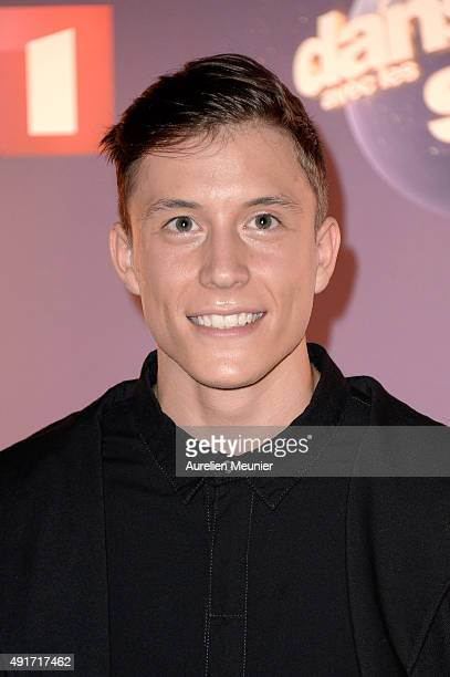 Loic Nottet poses during the 'Dances With The Stars' photocall on October 7 2015 in Paris France