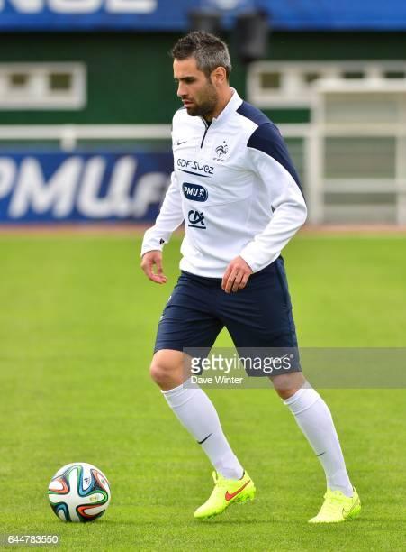 Loic PERRIN Football Entrainement Equipe de France Preparation Coupe du Monde 2014 Clairefontaine Photo Dave Winter / Icon Sport