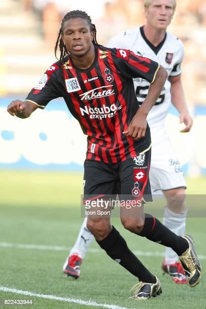 Loic REMY Nice / Rennes Ligue1 2eme Journee Stade du Ray