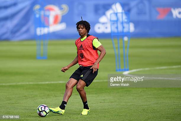 Loic Remy at Waldarena on July 17 2016 in Velden