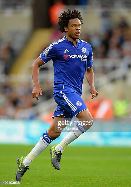Loic Remy of Chelsea during the Barclays Premier League match between Newcastle United and Chelsea at St James' Park on September 26 2015 in...