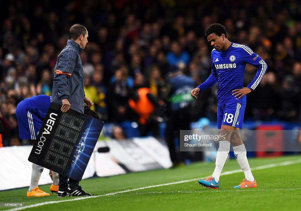 Chelsea FC v NK Maribor - UEFA Champions League : Nachrichtenfoto