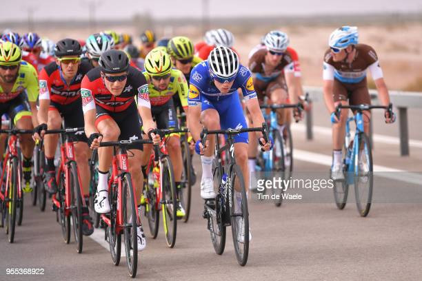 Loic Vliegen of Belgium and BMC Racing Team / Remi Cavagna of France and Team QuickStep Floors / during the 101th Tour of Italy 2018 Stage 3 a 229km...