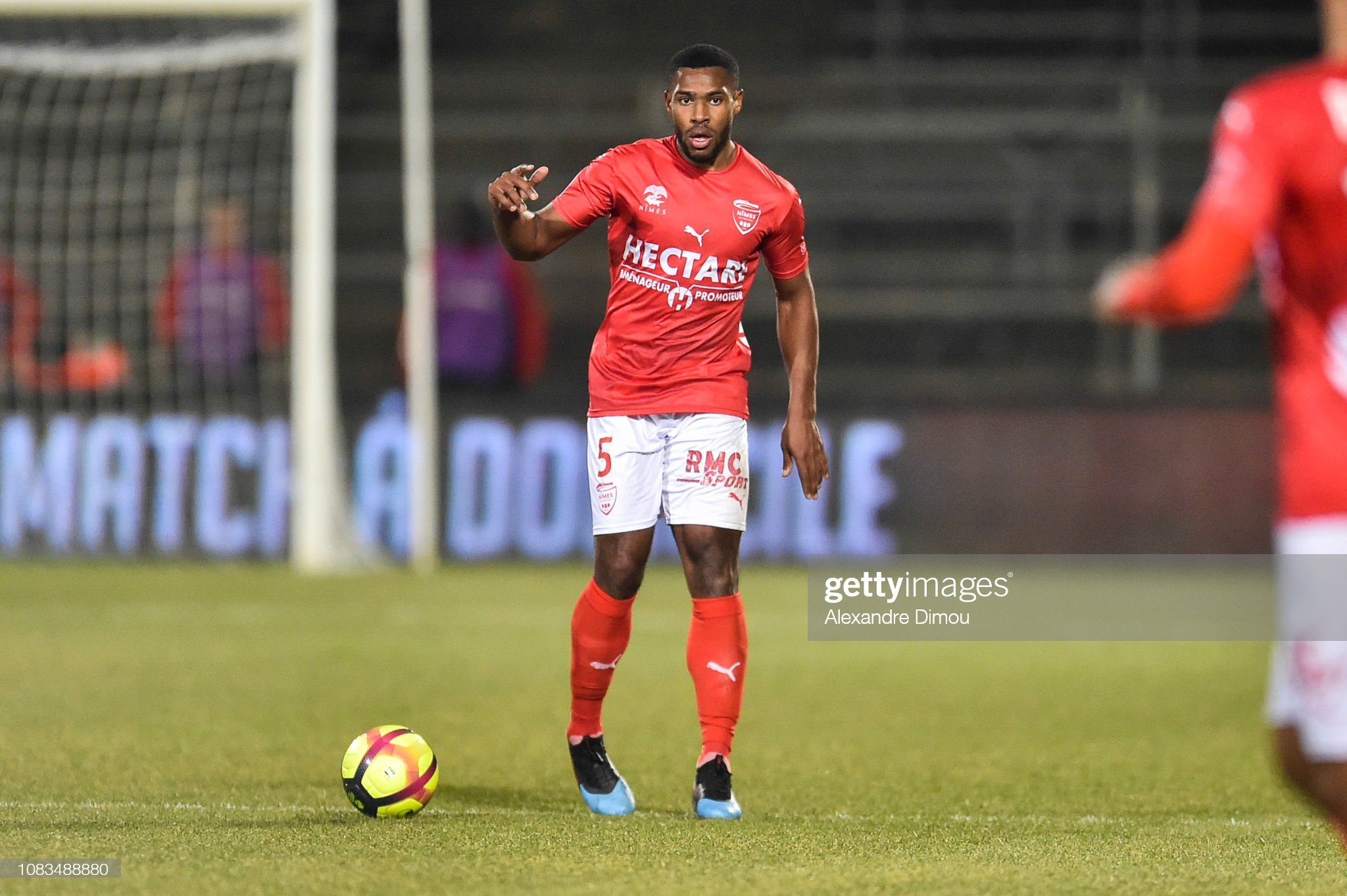 32 EME JOURNEE DE LIGUE 1 CONFORAMA : OM - NO  Loick-landre-of-nimes-during-the-ligue-1-match-between-nimes-and-at-picture-id1083488880?s=2048x2048