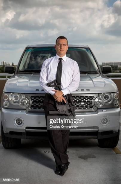 Loigrand De Angelis at his home on the 9th February 2013 in Miami Florida Mr De Angelis a Miami realtor stands for a portrait on the roof of his...