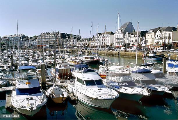 Loire Atlantique in Le Pouliguen, France - Pouliguen, marina Loire Atlantique, le Pouliguen, le port de plaisance