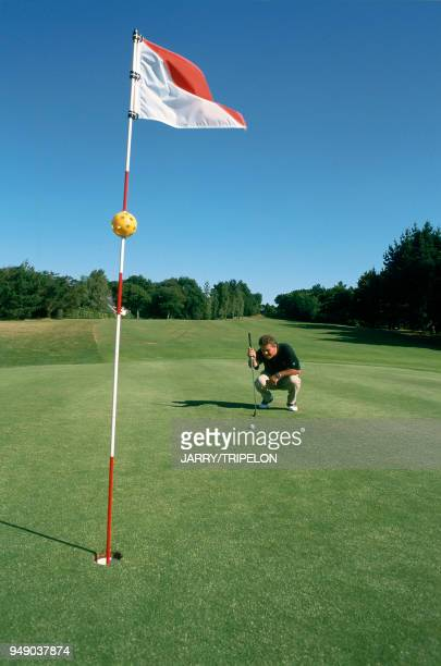 La Baule international golf course of the group Barrière created in the protected park of Brière red course The golf instructor Mathieu BERTRAND...