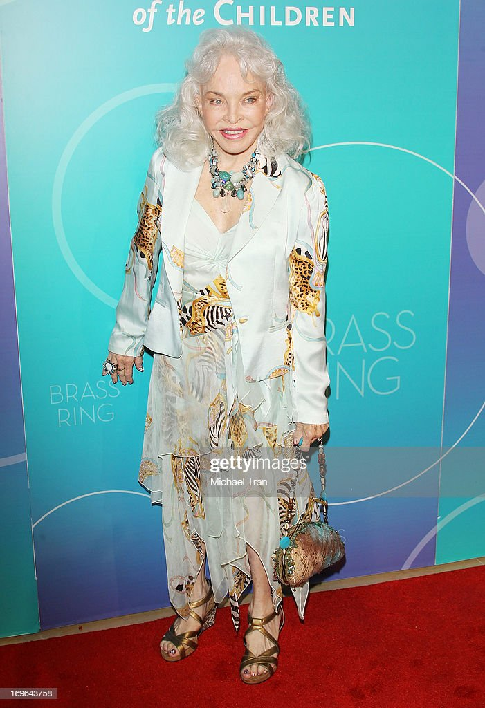 Lois Aldrin arrives at the United Friends of the Children Brass Ring Awards 2013 held at The Beverly Hilton Hotel on May 29, 2013 in Beverly Hills, California.