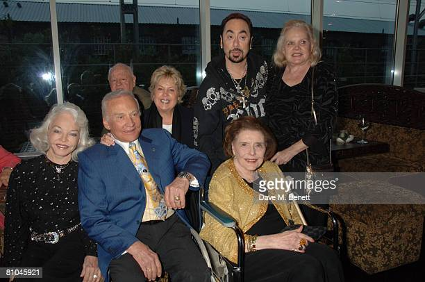 Lois Aldrin Buzz Aldrin Micky Rooney Jan Rooney David Gest Patricia Neal and Carroll Baker attend David Gest's dinner for Caudwell Childrens Legends...