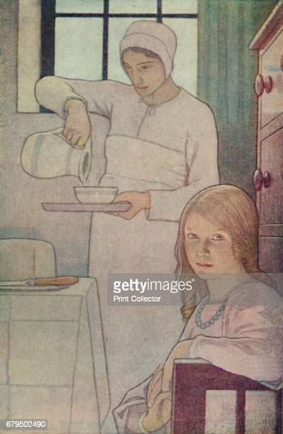 Lois and Her Nurse From 'A Book of Quaker Saints' ' 1923 IA Book of Quaker Saints was written for the instruction of Quaker children Frederick Cayley...