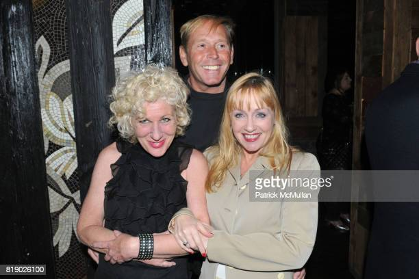 Lois Broderick John Haber and Janet McQueeney attend DANCETERIA 30th Anniversary Party at Aspen Social Club on May 9 2010 in New York City