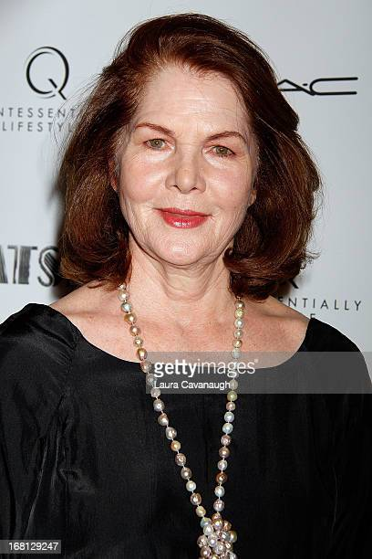 Lois Chiles attends the PreMet Ball screening of The Great Gatsby at The Museum of Modern Art on May 5 2013 in New York City