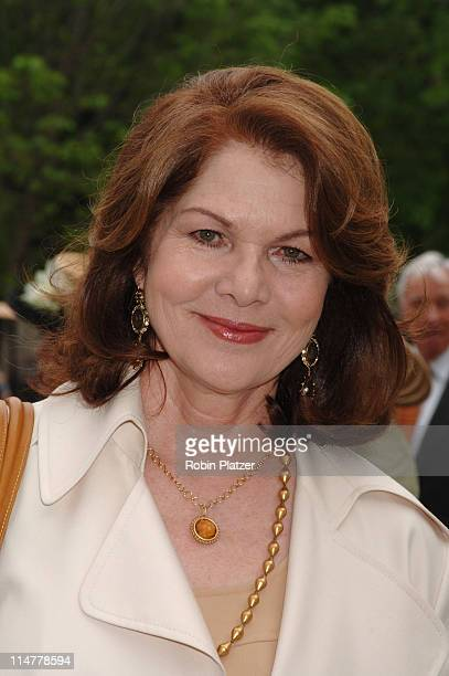Lois Chiles during The 24th Annual Frederick Law Olmsted Awards Luncheon at Central Parks Conservatory Garden in New York City New York United States