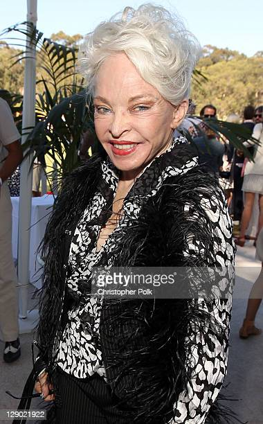 Lois Driggs Cannon attends Veuve Clicquot Polo Classic Los Angeles at Will Rogers State Historic Park on October 9, 2011 in Los Angeles, California.