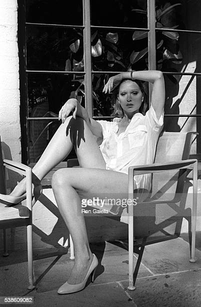 Lois Hamilton attends Exclusive Photo Session on May 3 1983 at her home in Hollywood California
