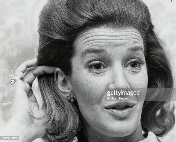 Lois Maxwell returned to her native Toronto this week for a hectic 24 hours promoting her latest movie; You Only Live Twice. In it she plays the role...