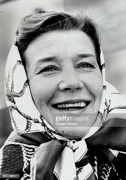 Lois Maxwell; veteran of London's West End; will be in cast of Any Wednesday.